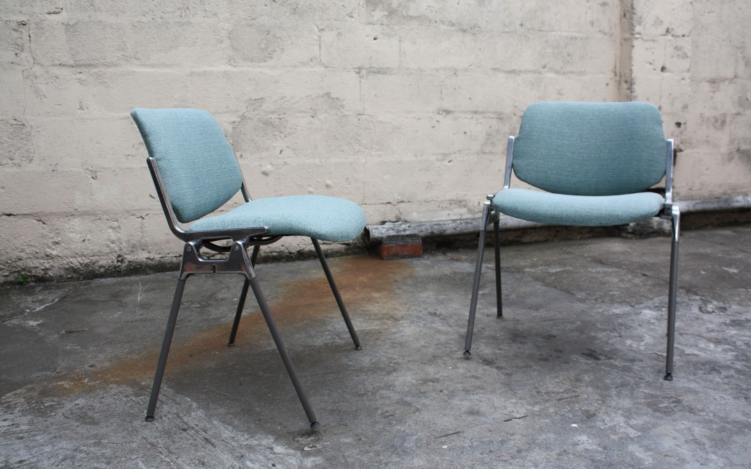 Italian Castelli DAC 106 by Giancarlo Piretti chairs. Sold