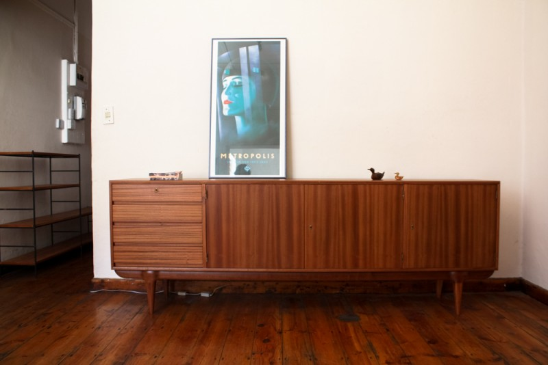 Large Mahogany mid-century sideboard.