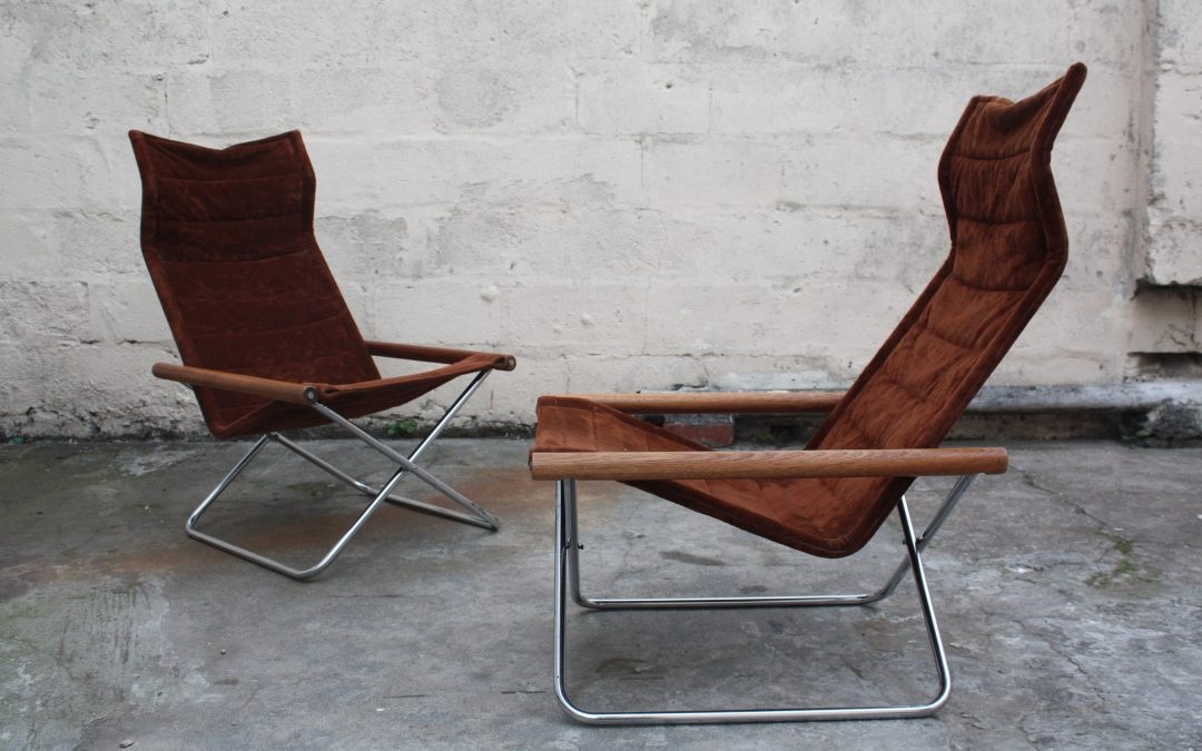 Design classic the NY folding chairs by Takeshi Nii.