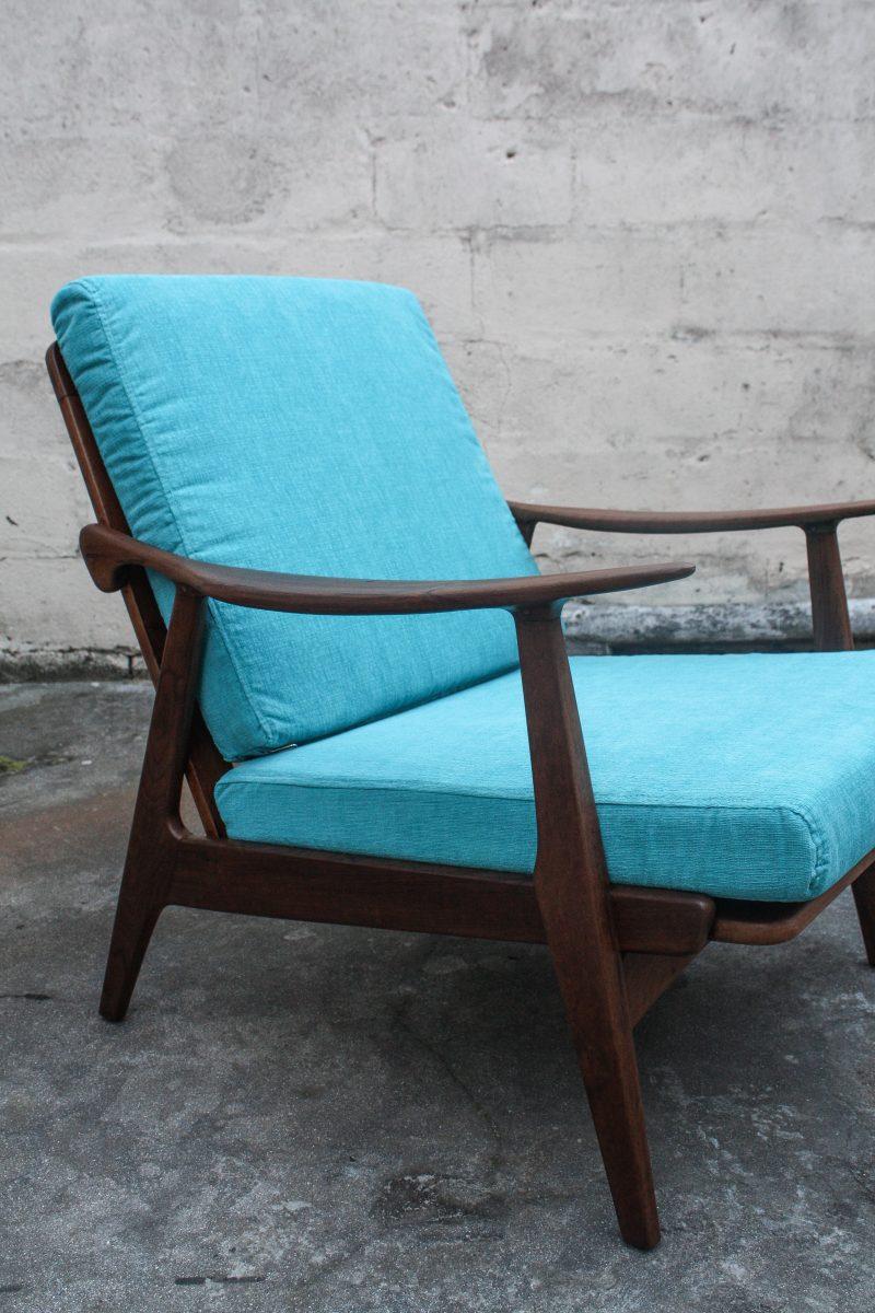 sky blue cushion