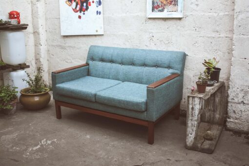 Mid-century comfy sofa