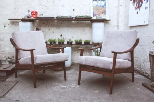 retro blowback armchairs